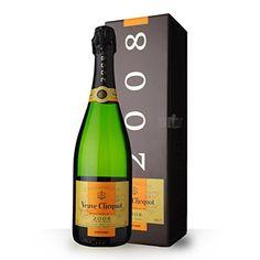 Veuve Clicquot Vintage 2008 Brut 75cl – Coffret: Vin Effervescent Blanc Champagne