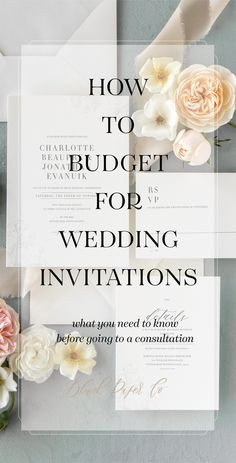 Budget breakdowns in wedding magazine wildly varied, so I didn't know   where to begin.  How are you supposed to budget for wedding invitations?