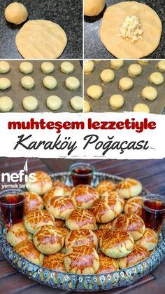 Turkish Recipes, Ethnic Recipes, Turkish Kitchen, Good Food, Yummy Food, Wie Macht Man, Biscuits, Muffins, Food Art