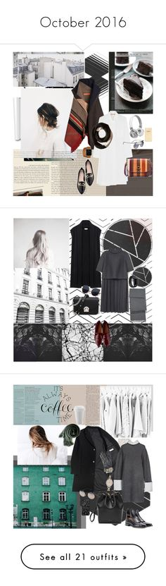 """""""October 2016"""" by mariettamyan ❤ liked on Polyvore featuring Master & Dynamic, Stop Staring!, Marni, Kate Spade, Tory Burch, SOREL, WAH, DKNY, Mulberry and Francesco Russo"""
