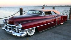 "1952 Cadillac ""Golden Edition"" Convertible  Had that car in late 60,s  (not that extact one but a red convertible)"