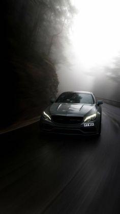 Mercedes Amg, Mercedes Black, Black Car Wallpaper, Mustang Wallpaper, Super Sport Cars, Super Cars, Street Racing Cars, Auto Racing, 4 Door Sports Cars