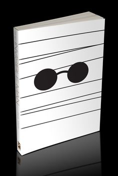 The Invisible Man minimalist book cover by Mike Young