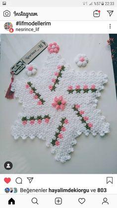 Free Crochet Bag, Filet Crochet, Baby Knitting Patterns, Hairstyle Trends, Yarn Crafts, Crochet Flowers, Elsa, Crochet Necklace, Stitch