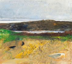 Kurt Jackson: Morning bulb field, across to Gugh from St Agnes. Contemporary Landscape, Landscape Art, Landscape Paintings, Kurt Jackson, Painting Styles, St Agnes, Painter Artist, Fashion Painting, Seascape Paintings