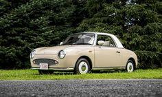 1991 Nissan Figaro. What sweet little car!