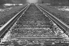Reminds me of the railroad tracks behind Vivvi's house.