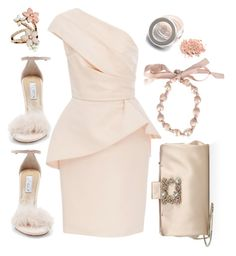 """Untitled #229"" by tisshik ❤ liked on Polyvore featuring Monique Lhuillier, Steve Madden, Accessorize and Roger Vivier"