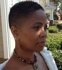 african american women bald fade - Google Search