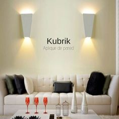 #KUBRICK#LED#APLIQUEDEPARED Led, Ideas Para, Home Decor, Yurts, Home Lighting, Wall Sconces, New Trends, Sweet Home, Bulbs