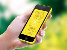 Round App Splash Screen | Creative UI Design