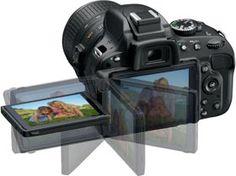 Nikon D5100 16.2MP CMOS Digital SLR Camera with 18-55mm f/3.5-5.6 AF-S DX VR Nikkor Zoom Lens Rated at 4.5/5.0 Stars