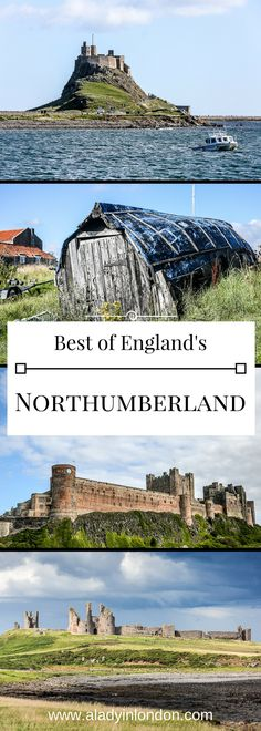 9 unforgettable places to travel in Northumberland, England. From castles to coastline, there are a lot of beautiful sights.