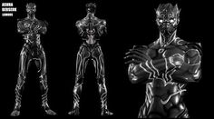 The other Black Panther. Source: Asura's Wrath Superhero Characters, Fantasy Characters, Fantasy Character Design, Character Drawing, For Honour Game, Noctis Final Fantasy, Asura's Wrath, Dark Warrior, Monster Concept Art