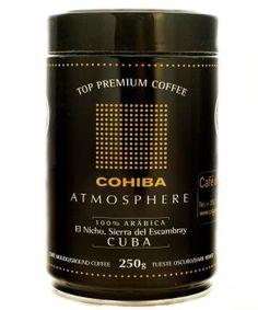 Buy Cohiba Coffee Roasted & Ground 250g #cubancoffee Coffee Bottle, Whiskey Bottle, Cuban Coffee, Coffee Plant, Coffee Roasting, Stuff To Buy, Coffee Flower