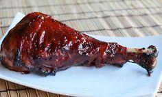 smoked turkey legs http://www.simplecomfortfood.com/2011/10/19/smoked-turkey-legs-with-whiskey-glaze/