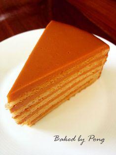 Bloggang.com : Baked by PonG : Thai Tea Cake (เค้กชาไทย)