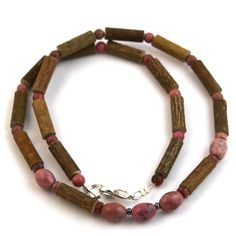 Hazel-Gemstone Pink Rhodonite Hazelwood helps with many different problems. I found it works amazingly when I am nervous and my stomach is in knots. No more upset stomach.