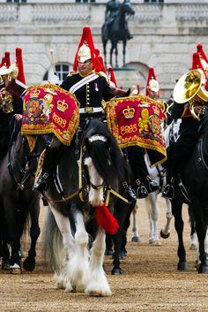 Horse Guard, London, England.