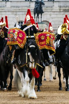 Horse Guard, London, England.
