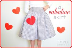 Simple Simon & Company: A Valentine Skirt.