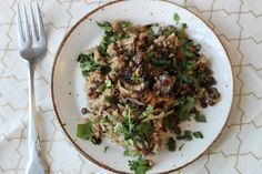 At the Immigrant's Table: Middle Eastern mujadara (lentils and rice with spices)
