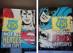 Super Hero Relay theme!