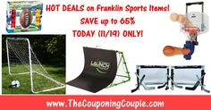 ***GREAT GIFT IDEAS ~ Franklin Sports Items Up to 65% Off TODAY (11/19) ONLY*** Click the Picture below to get all the details ► http://www.thecouponingcouple.com/franklin-sports-items/  Use the SHARE button below the Picture to SHARE this Deal with your Family and Friends!  #Coupons #Couponing #CouponCommunity  Visit us at http://www.thecouponingcouple.com for more great posts!