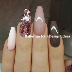 Trending Ballerina nails designs – Ballerina Nail art, You can collect images you discovered organize them, add your own ideas to your collections and share with other people. Colorful Nail Designs, Beautiful Nail Designs, Nail Art Designs, Acrylic Nail Shapes, Acrylic Nail Art, Gorgeous Nails, Pretty Nails, Bubble Nails, Acrylic Nails