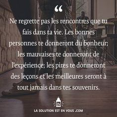 Motivation Quotes : Plus d'inspiration ici: lasolutionestenvo. - About Quotes : Thoughts for the Day & Inspirational Words of Wisdom Positive Mind, Positive Attitude, Positive Quotes, Love Quotes, Inspirational Quotes, Funny Quotes, French Quotes, Positive Affirmations, Mantra