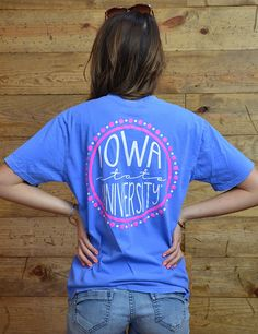 Hey ISU! Show your love and support for your Cyclones in this new Iowa State t-shirt!