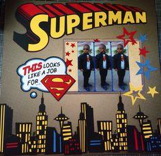 Superman layout