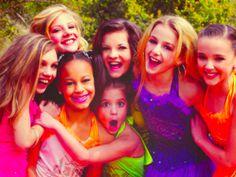 Maddie, Nia, Paige, Mackenzie, Brooke, Chloe, and Kendall