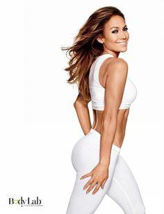 Jennifer Lopez Flaunts Abs in Bodylab Photos