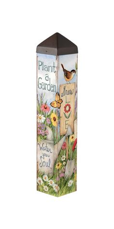 This Art Pole. It makes a uniquely beautiful addition to any lawn or garden. A Studio M exclusive, Art Poles are an impactful way to bring beautiful artwork to any landscape. Ultra-durable for ye