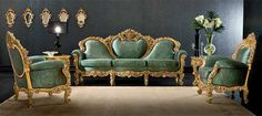 Victorian Living Room Plutone- Victorian Furniture