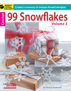 Picture of 99 Snowflakes Volume 2. Maybe could join as table runner?