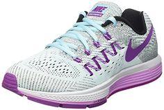 new styles 76245 27eac Nike Womens Wmns Air Zoom Vomero 10, COPA VIVID PURPLE-BLACK-FUCHSIA GLOW,  8 M US