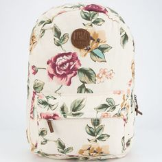 Billabong Hand Over Love Backpack White Combo One Size For Women 24812816701