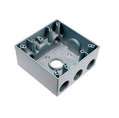 Pass & Seymour Wpb342 2G Wp Box W/4 3/4 Hubs
