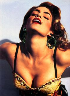 Cindy Crawford photographed by Michel Comte- 80's