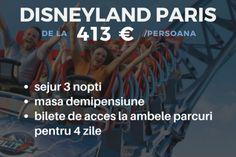 Vacanta de 1 iunie in parcurile de distractii din Europa Disneyland, Paris, Top, Europe, Italy, Montmartre Paris, Disney Land, Disney Resorts, Crop Tee