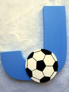 these would be adorable in baby's soccer themed nursery!