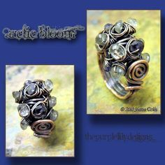 Woodland Moss Ring Tutorial PurpleLily by PurpleLilyDesigns