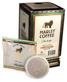 Marley Coffee One Love Free Trade Organic Coffee Pods Decaf Coffee, Espresso Coffee, Hot Coffee, Marley Coffee, Tropical Showers, Blue Mountain Coffee, Masala Chai, Blended Coffee, Coffee Pods