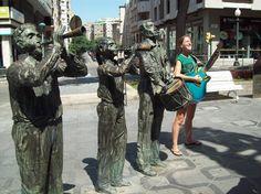 """estos músicos """"son de piedra"""" / stone musicians"""