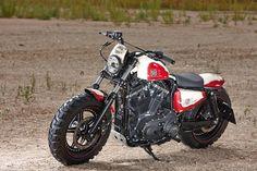 Sportster Scrambler by Rick's Motorcycles