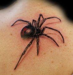 Best Spider Tattoo Designs - Our Top 10 tattoo design - Tattoos And Body Art Best 3d Tattoos, Popular Tattoos, Body Art Tattoos, Tattoo Drawings, 3d Tattoos For Men, Tattoo Designs And Meanings, Tattoos With Meaning, Black Widow Spider Tattoo, 10 Tattoo