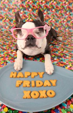 Happy Friday, everyone! Enjoy your weekend!