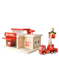 Fire Station by PlanToys at Gilt